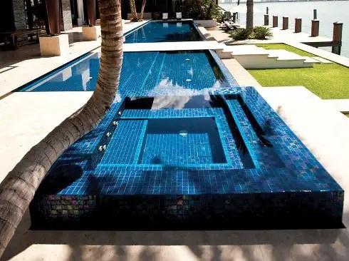luxury pools outdoor living
