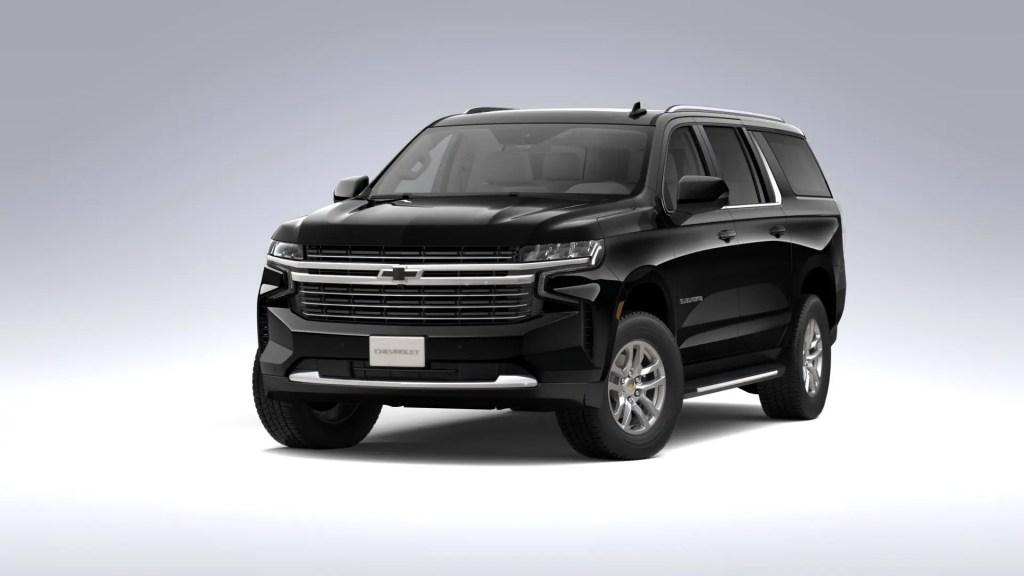2021 Chevrolet Suburban - Luxury SUV Rides Chauffeured Black Car Service Fleet SUV