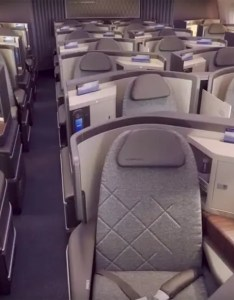 Review el al business class cabin  seats on  dreamliner also rh luxurytraveldiary