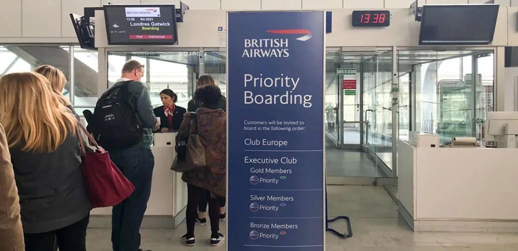 British Airways Priority Boarding Misery
