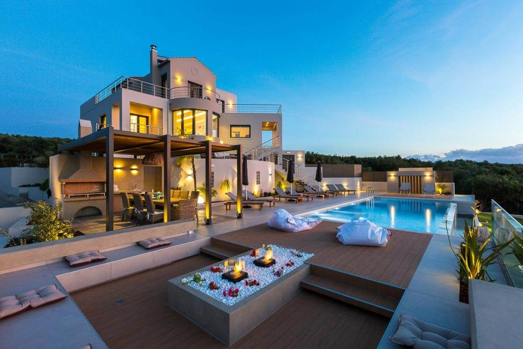 Best luxury villas in Chania