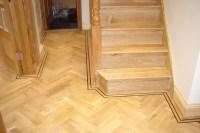 Solid wood steps North London Wood Flooring Company LUXURY ...