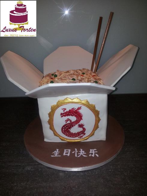 Chinesische Nudeln togo  LUXUSTorten