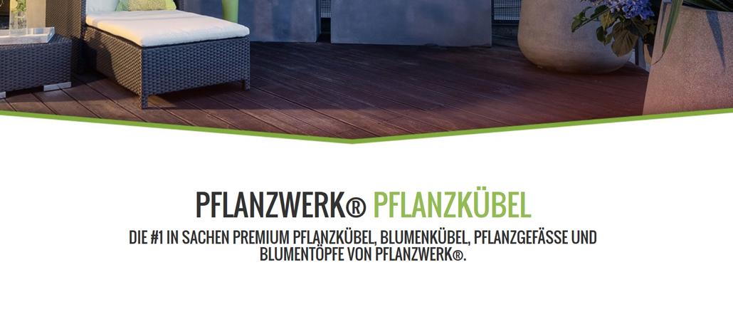 Pflanzwerk – Premium Pflanzkübel direkt vom Hersteller