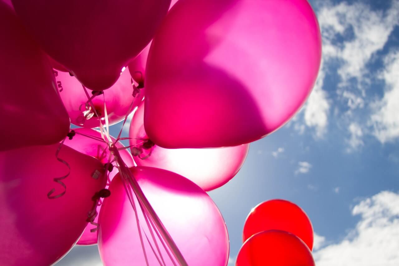 Balóny- kreatívne a jednoduché DIY dekorácie