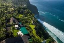 Aerial Drone Khayangan Estate Bali