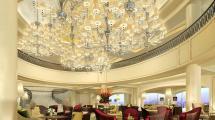 Beautiful Chandeliers Hotel Design