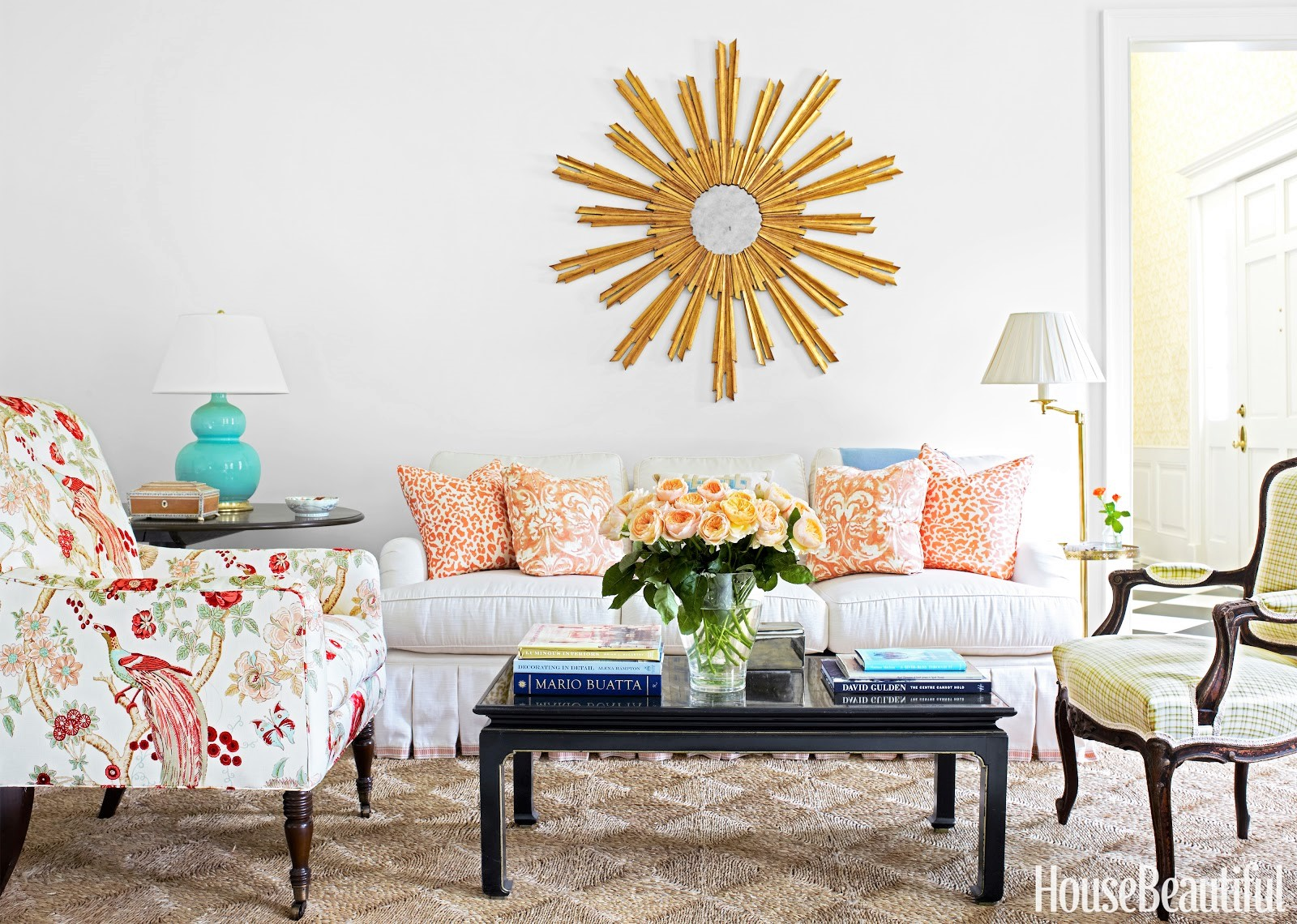 want to decorate my living room blue curtains 10 decoration ideas you will have for spring 2017