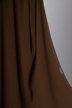 حجاب شيفون موكا