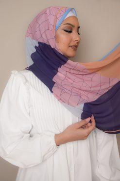 حجاب بألوان الفاكهة