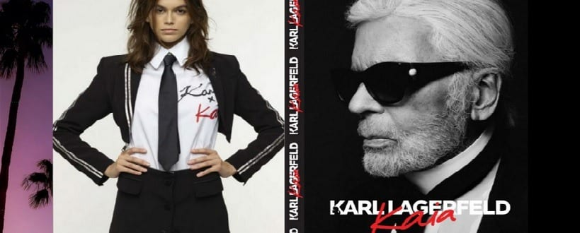 Collection de karl Lagerfeld kaia collection luxe 2018