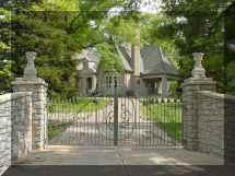Wrought Iron Driveway Gates Designs