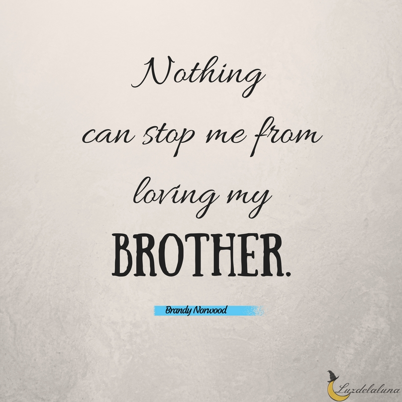 Brother Quotes | 15 Awesome Brother Quotes Luzdelaluna