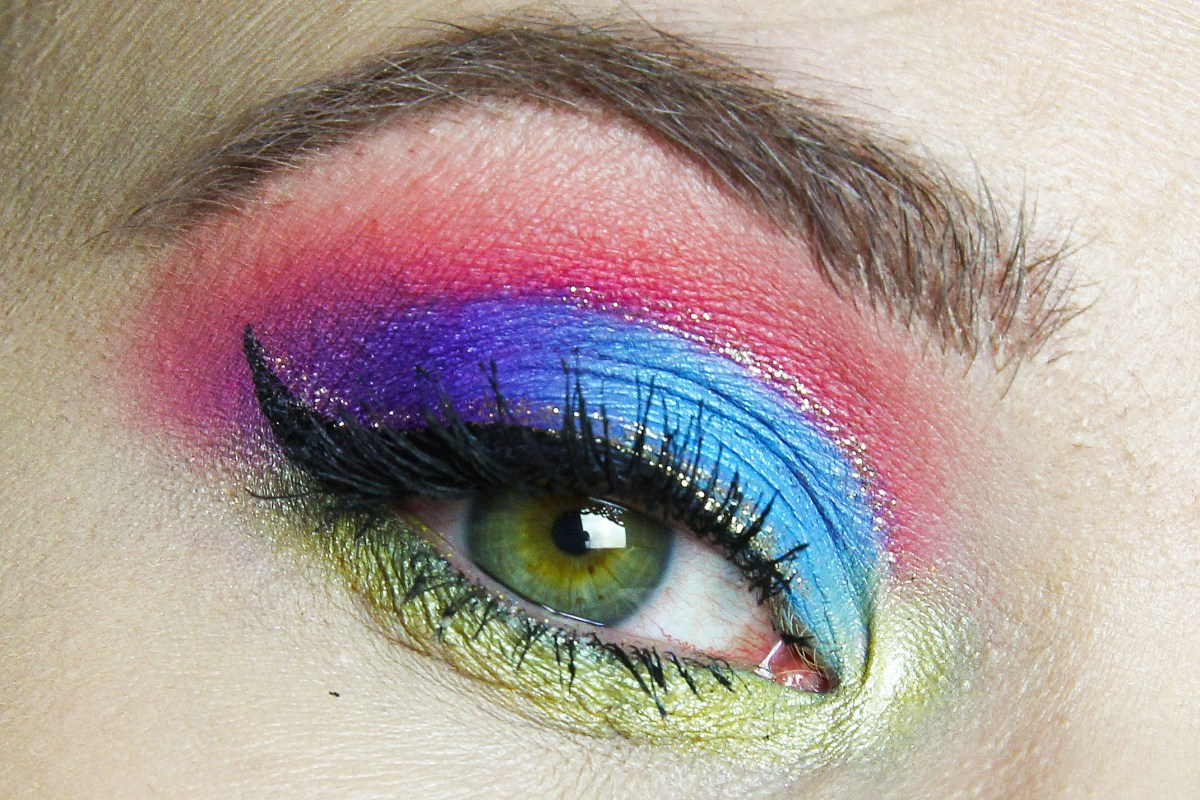 Last minute Carnaval's make-up inspiratie: Rommeltje!