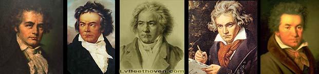 Ludwig van Beethoven: portraits...