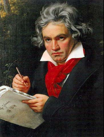 Beethoven by Joseph Karl Stieler