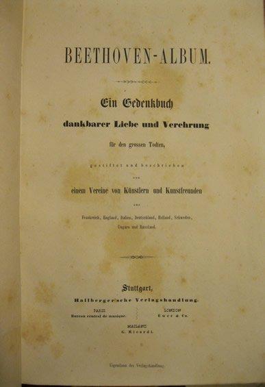 Beethoven Album (1846)