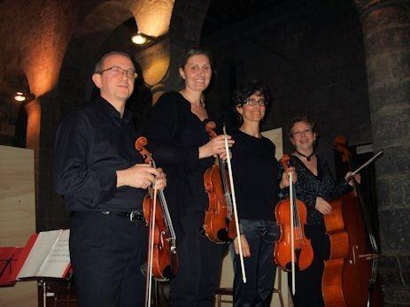 La prima mondiale dei sei quartetti per archi Anhang 2