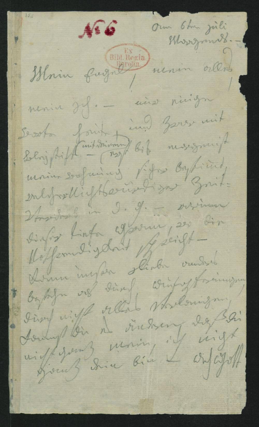 Lettera all'amata immortale – Brief an die Unsterbliche Geliebte