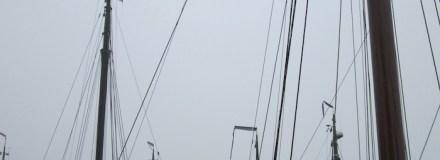 Conservering en afwerking van houten masten