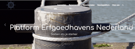 PEN website te water gelaten