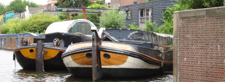 Motie varend erfgoed Amsterdam