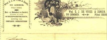 Hoe weduwe De Vries aken en tjalken optuigde