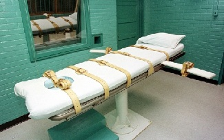 Execution of death penalty: Method; time and place