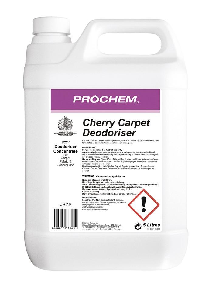 Cherry Carpet Deodoriser 5L