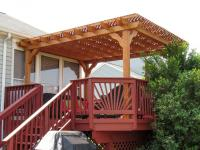Lattice Roof Pergola