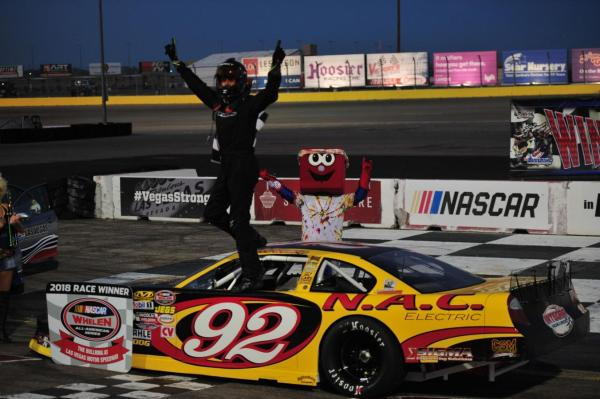 Clyne Parker Jr. Trade Nascar Super Late Model Wins