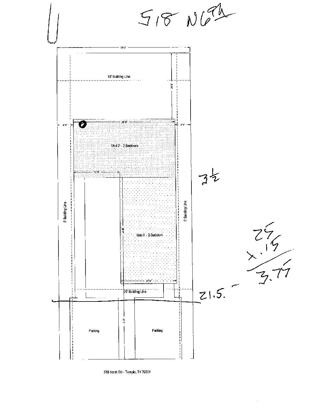 517 (A) N. 6th Temple, Tx 76501 • LVR Management
