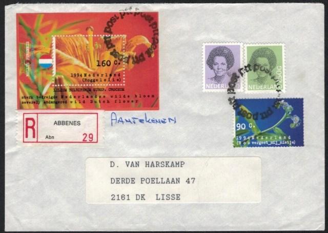Abbenes rijdend postkantoor