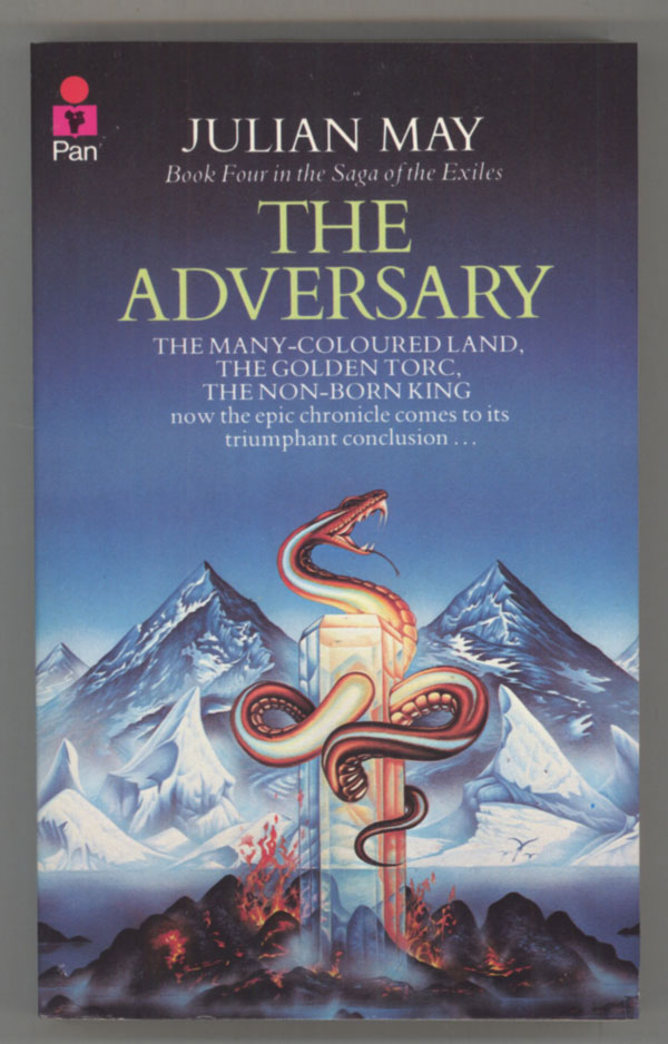 THE ADVERSARY Julian May First Edition