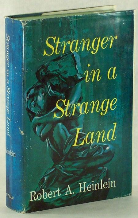 Stranger In A Strange Land Robert A Heinlein First