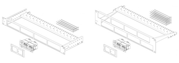 0-2153113-3 Quick Fit AMP CO Ultra 16 Port High Dens