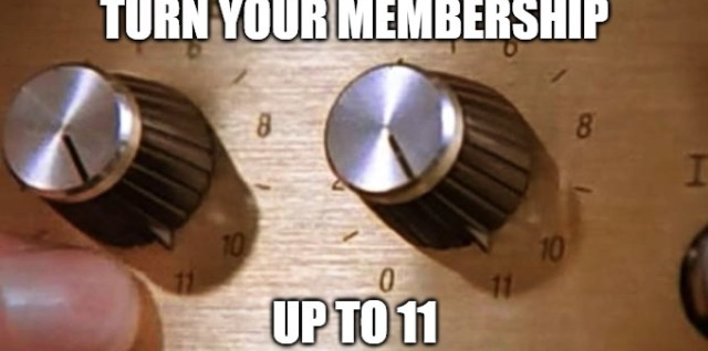 Turn Your Membership Drive Up to 11