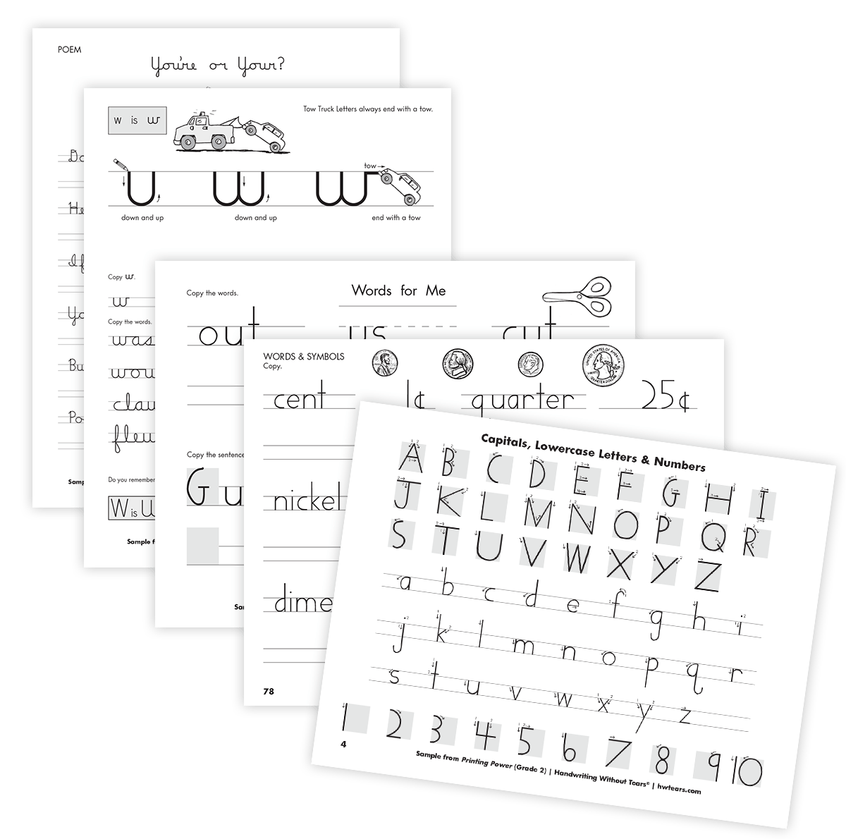 Writing Without Tears Worksheet