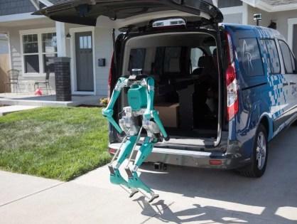 Entregas com veículos autônomos e robôs inteligentes