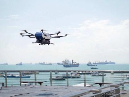 Drones fazem parte do impacto no setor marítimo com indústria 4.0
