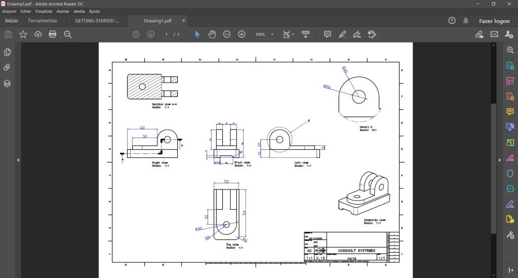 Draftsight editar arquivo DWG - 9
