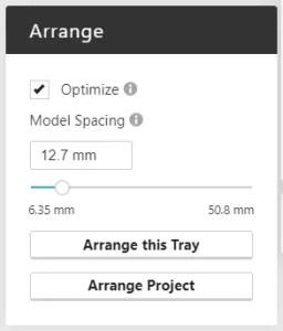 GrabCAD Print Arrange Tool