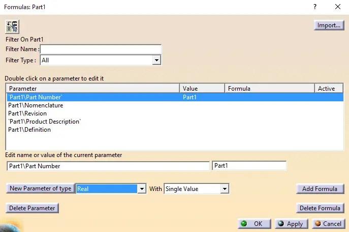 Dica Catia V5 - Criação de Parâmetros - LWT