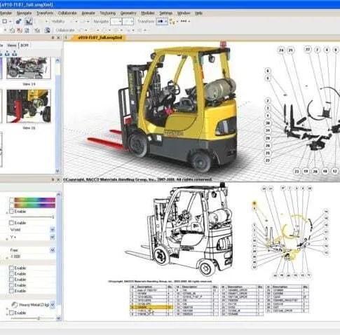 Ilustração Técnica 3D