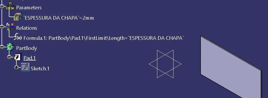 Dica Catia V5 - Criação de fórmulas 2