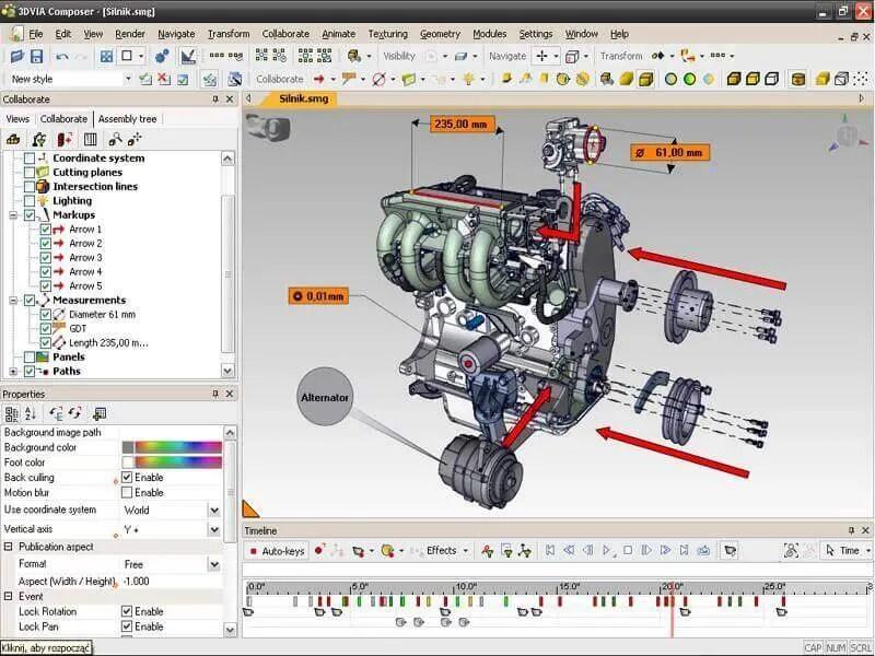 As maiores dificuldades na ilustração técnica 3D.