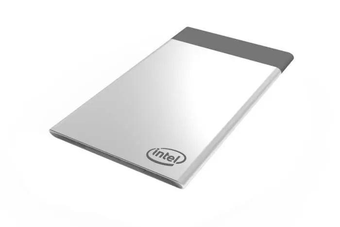 Intel desenvolve computador de bolso em forma de cartão.