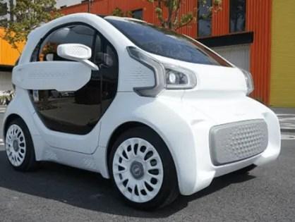 Carro impresso em 3D   conheça o LSEV que chegará ao mercado em 2019
