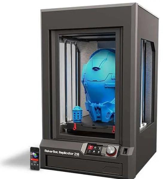 Impressora 3D MakerBot Replicator Z18