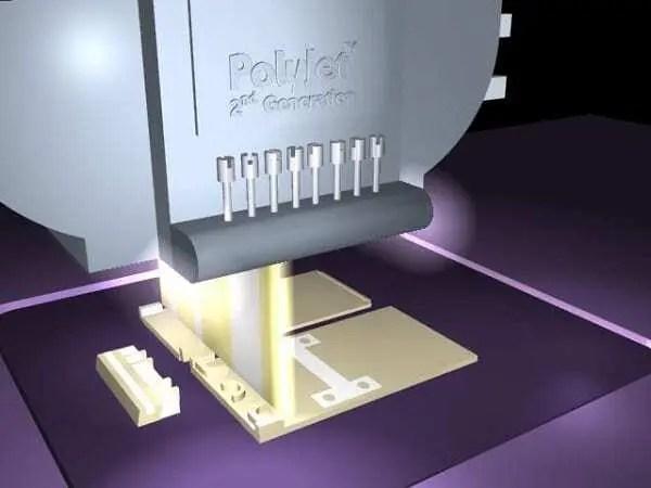 Modelo de impressão com tecnologia 3D da Polyjet. Continue lendo nosso post